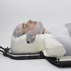 Maschere termoplastiche di alta qualit radioterapia tecnosan - Radioterapia a bagno ...